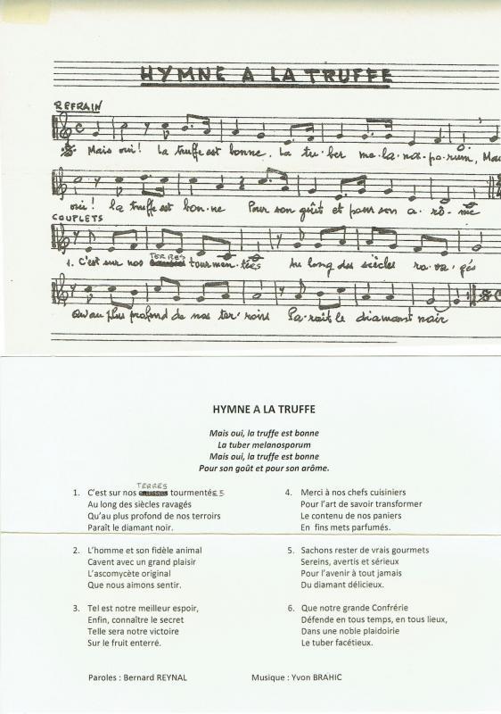 Hymne à la truffe